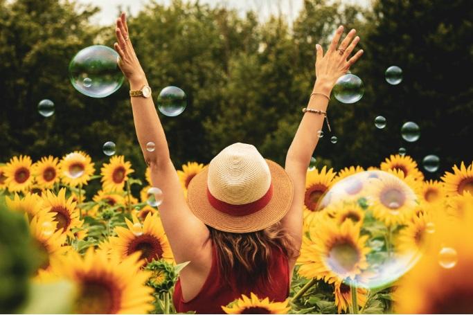 Poder sentirnos libres para ser feliz